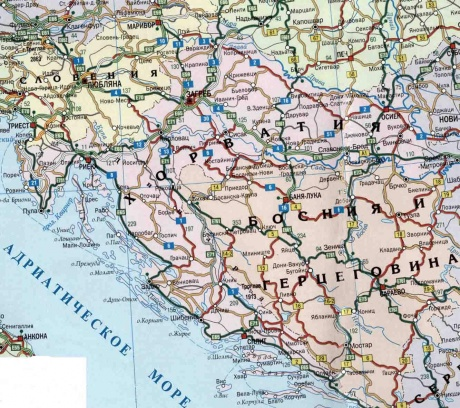 croatia_map_road